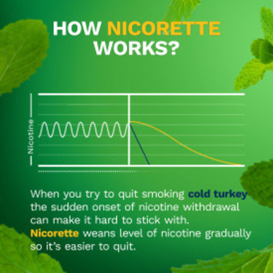 Nicorette Mini Nicotine Lozenges, Mint, 2mg, 81 ct, , large image number 9