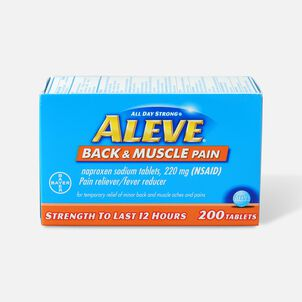 Aleve Back & Muscle Pain, 200ct
