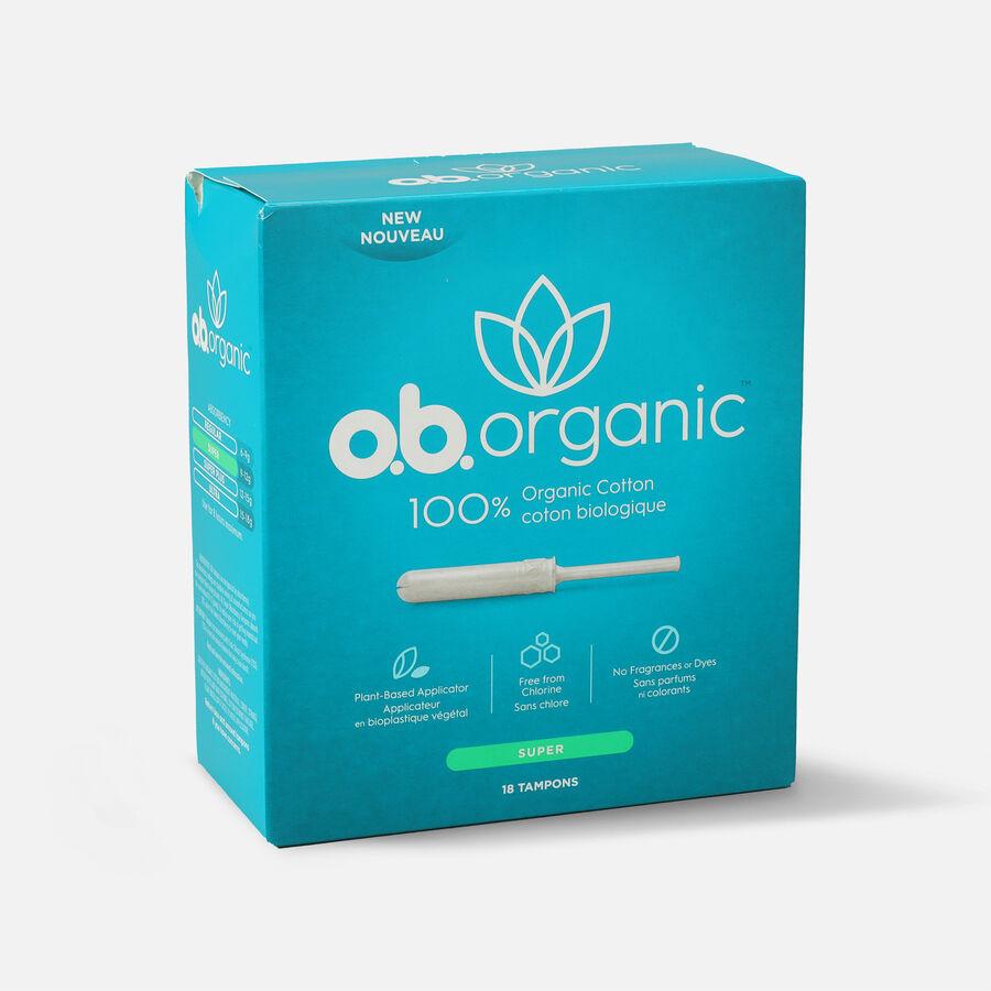 o.b. Organic Tampon with Applicator 18ct, , large image number 4