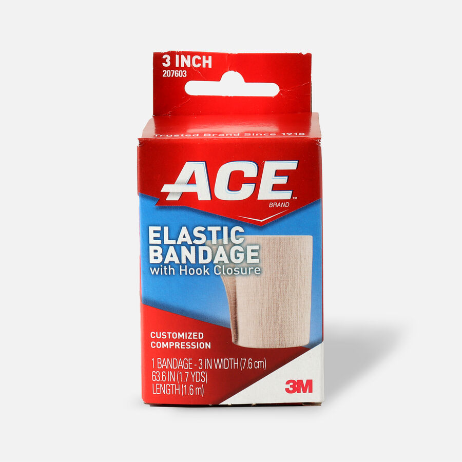 ACE Elastic Bandage with Hook Closure, , large image number 4