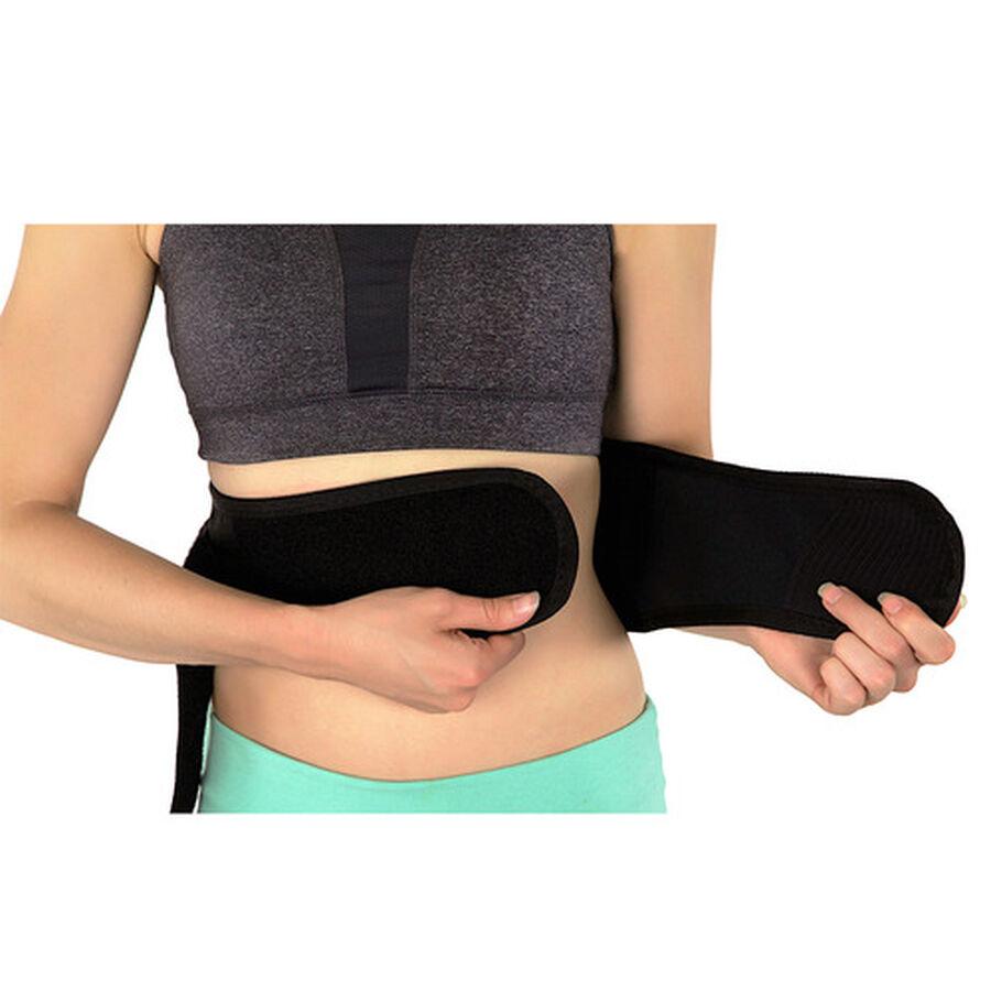 Back-A-Line Premier BMMI® Medical Magnets Lumbar Support, Black, , large image number 2