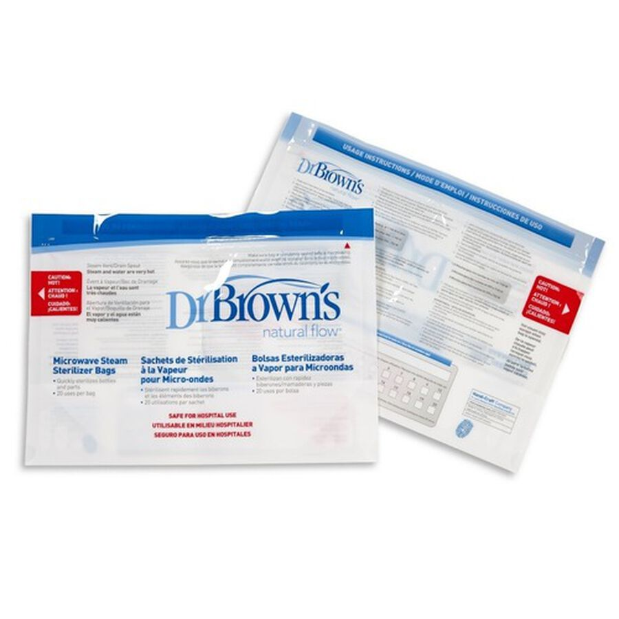 Dr. Brown's Microwave Steam Sterilizer Bags, , large image number 1