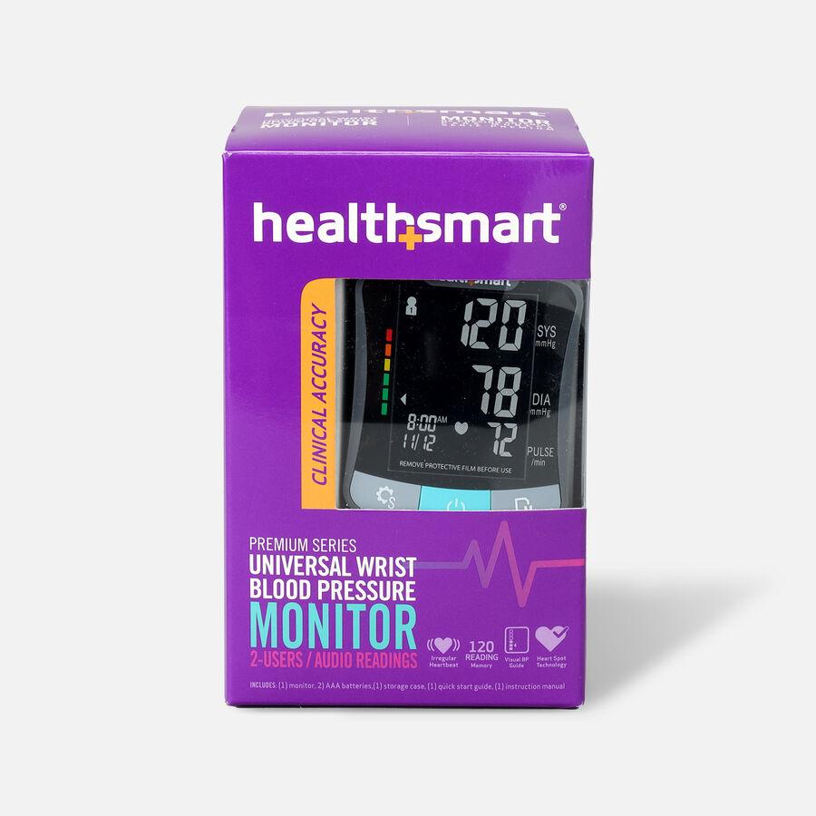 HealthSmart Premium Wrist Digital Blood Pressure Monitor, , large image number 0