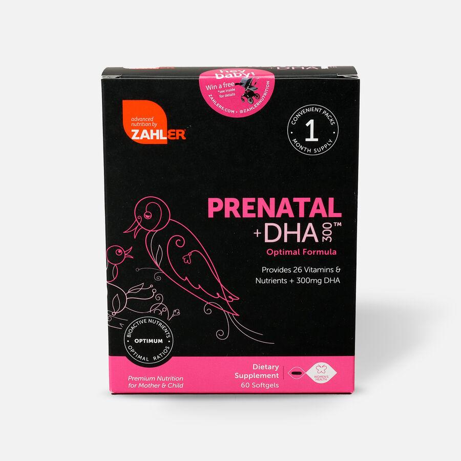 Zahler Prenatal +DHA 300mg Vitamins, 60 Softgels, , large image number 2