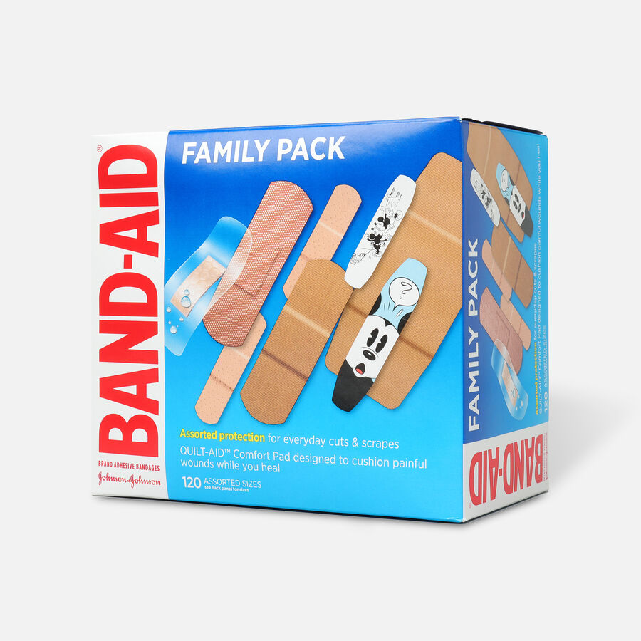 Band-Aid Adhesive Bandages Family Pack, 110ct., , large image number 2