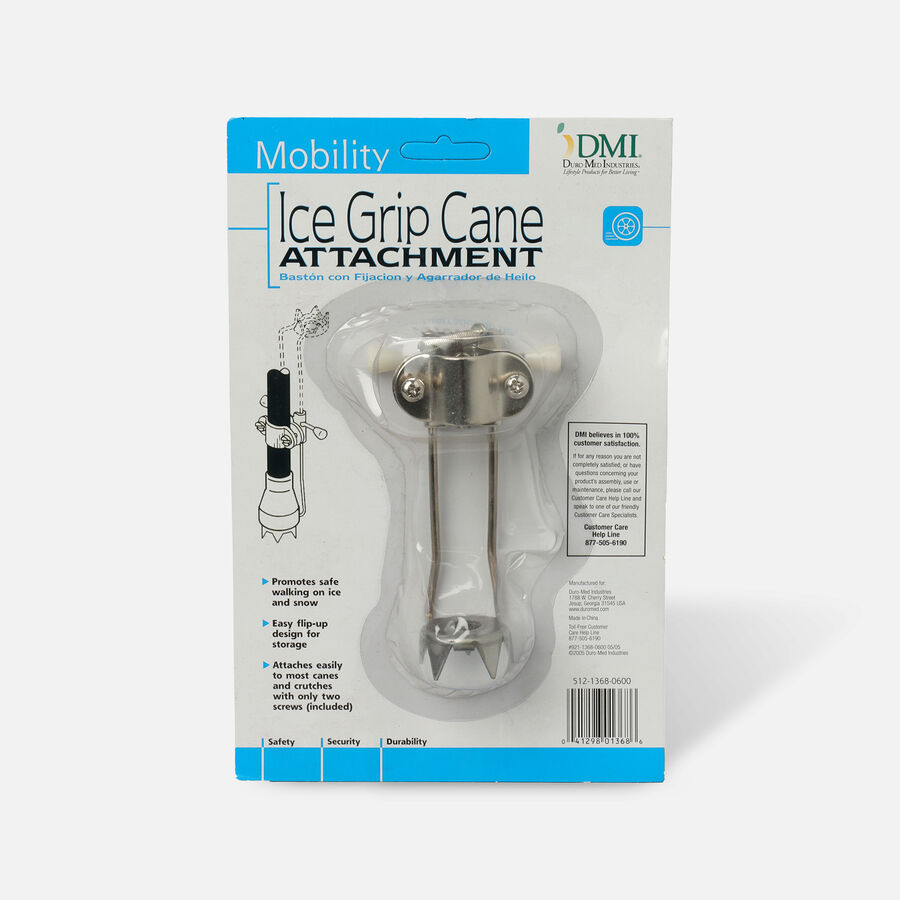 Mabis 5 Prong Ice Grip Attachment for Canes or Crutches, , large image number 0