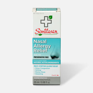 Similasan Nasal Allergy Relief, Preservative Free, 0.68 fl. oz.