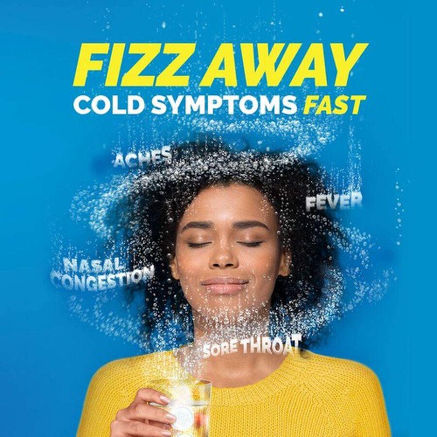 Alka-Seltzer Plus Severe Cold & Flu Powerfast Fizz Tablets, Citrus - 20 ct, , large image number 9