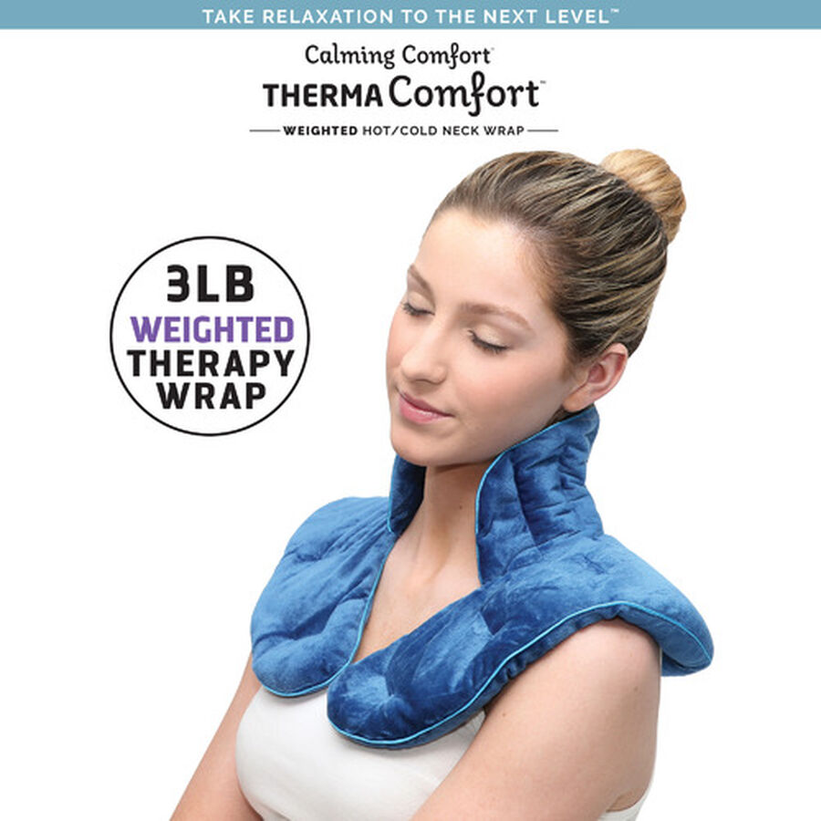 ThermaComfort™ 3 lb. Weighted Hot/Cold Neck Wrap, , large image number 2