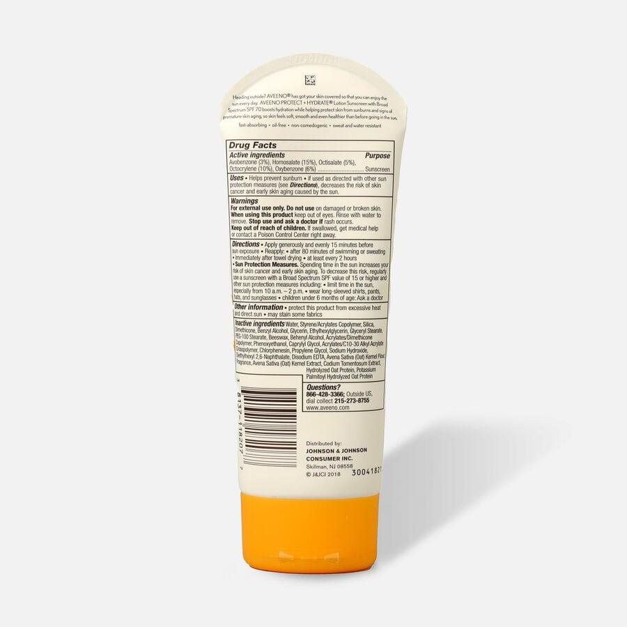 Aveeno Protect + Hydrate Moisturizing Sunscreen Lotion, SPF 70, 7 oz, , large image number 1