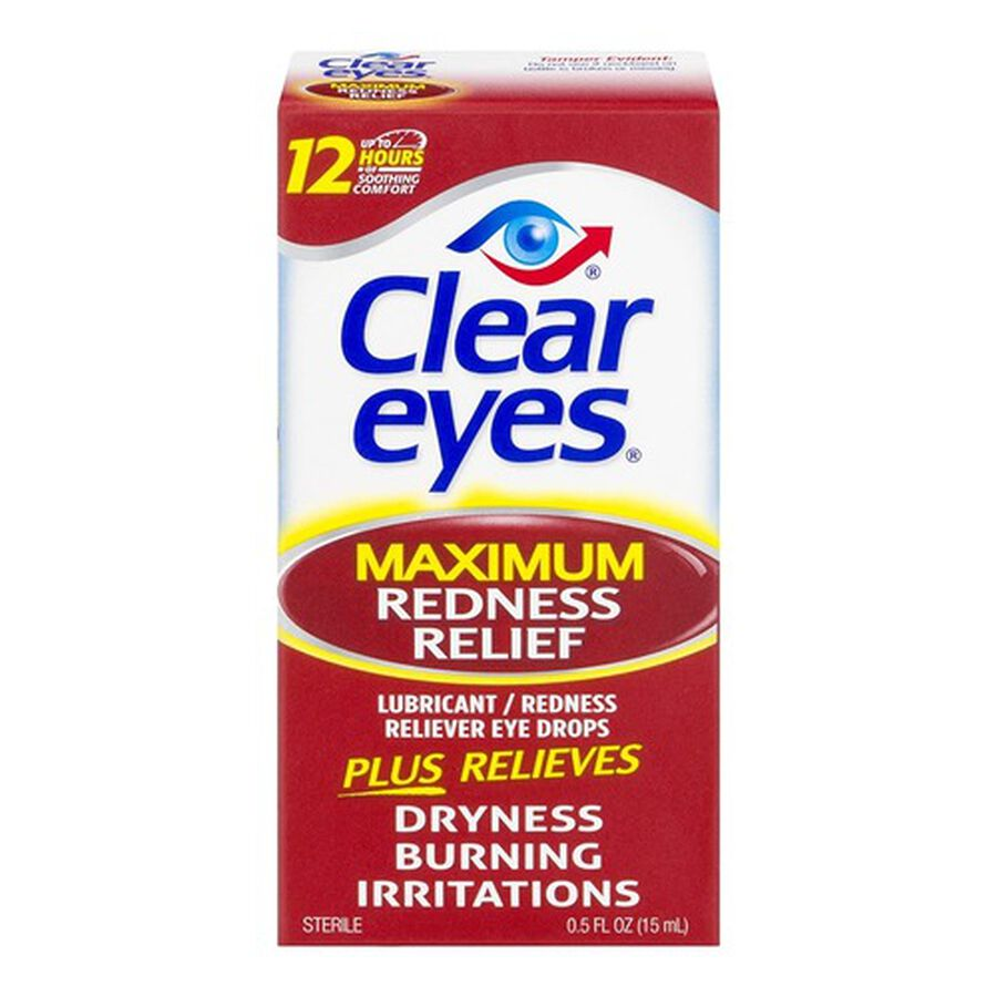 Clear Eyes Maximum Redness Eye Relief, , large image number 0