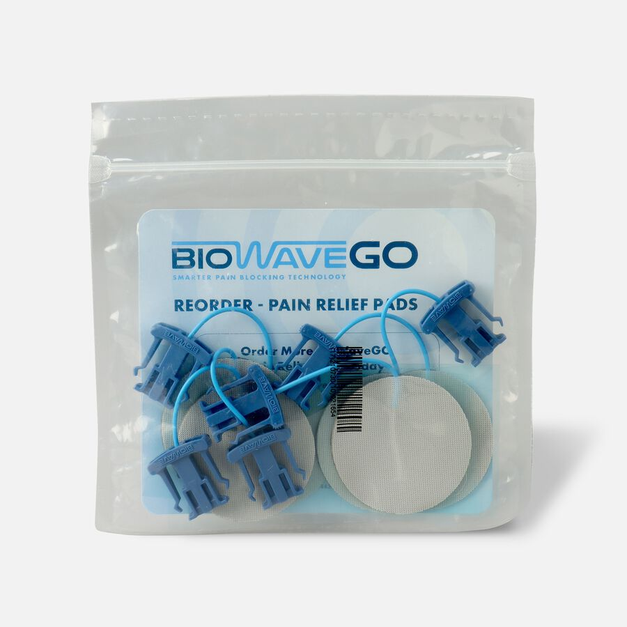 BioWaveGO Replacement Pain Relief Pads, , large image number 1