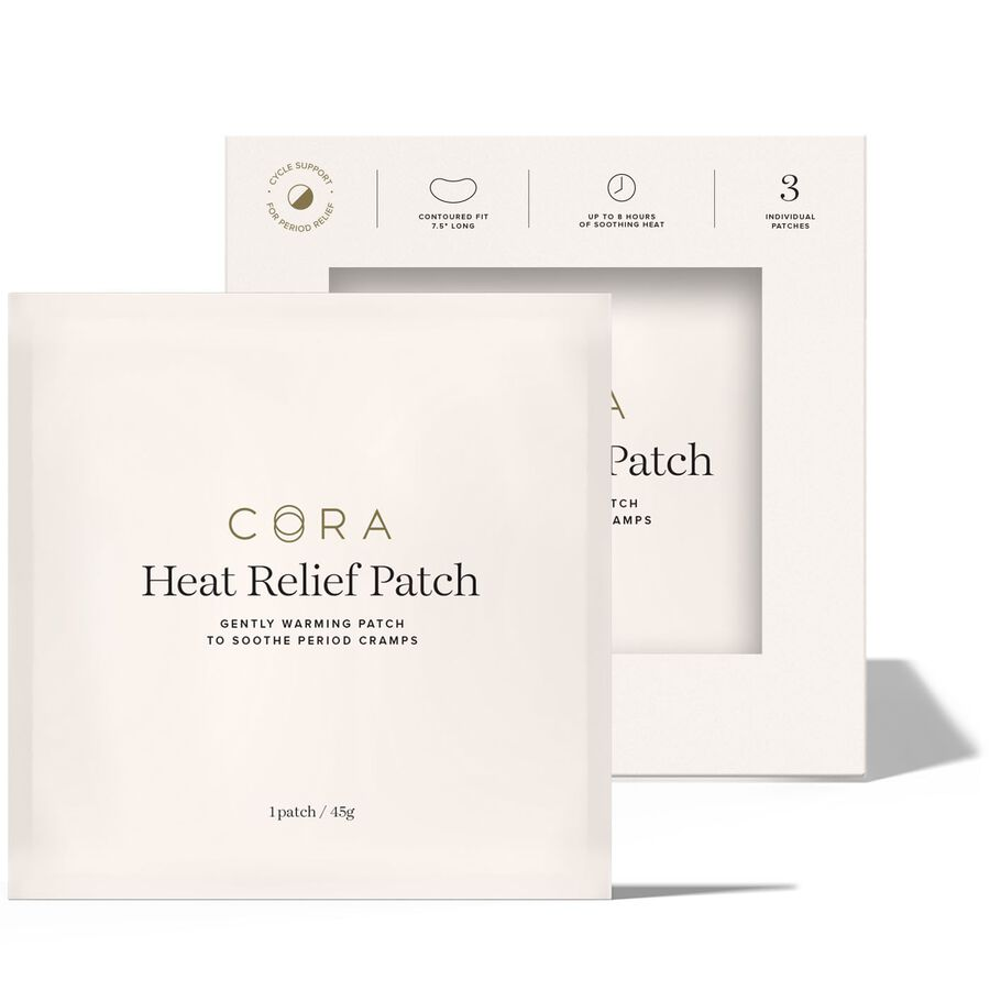 Cora Heat Relief Patch, 3ct, , large image number 2