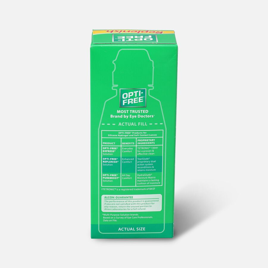 Opti-Free RepleniSH Multi-Purpose Disinfection Solution, 4 fl oz, , large image number 1