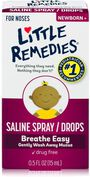 Little Remedies For Noses Saline Spray, 0.5 oz, , large image number 0