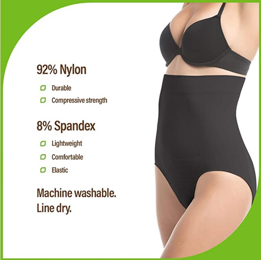 UpSpring C-Section Recovery Panty Plus Incision Care, Black, , large image number 3