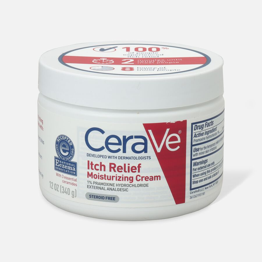 CeraVe Moisturizing Cream for Itch Relief, , large image number 0