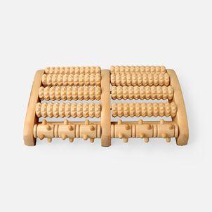 Kanjo Acupressure Foot Pain Relief Multi Roller, Wood, Relieves Plantar Fasciitis, Heel & Arch Pain