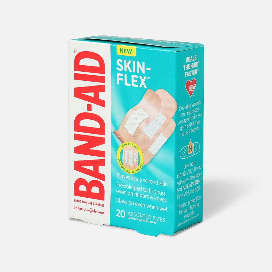 Band-Aid Skin-Flex Adhesive Bandages, Assorted Sizes, 20ct, , large image number 2