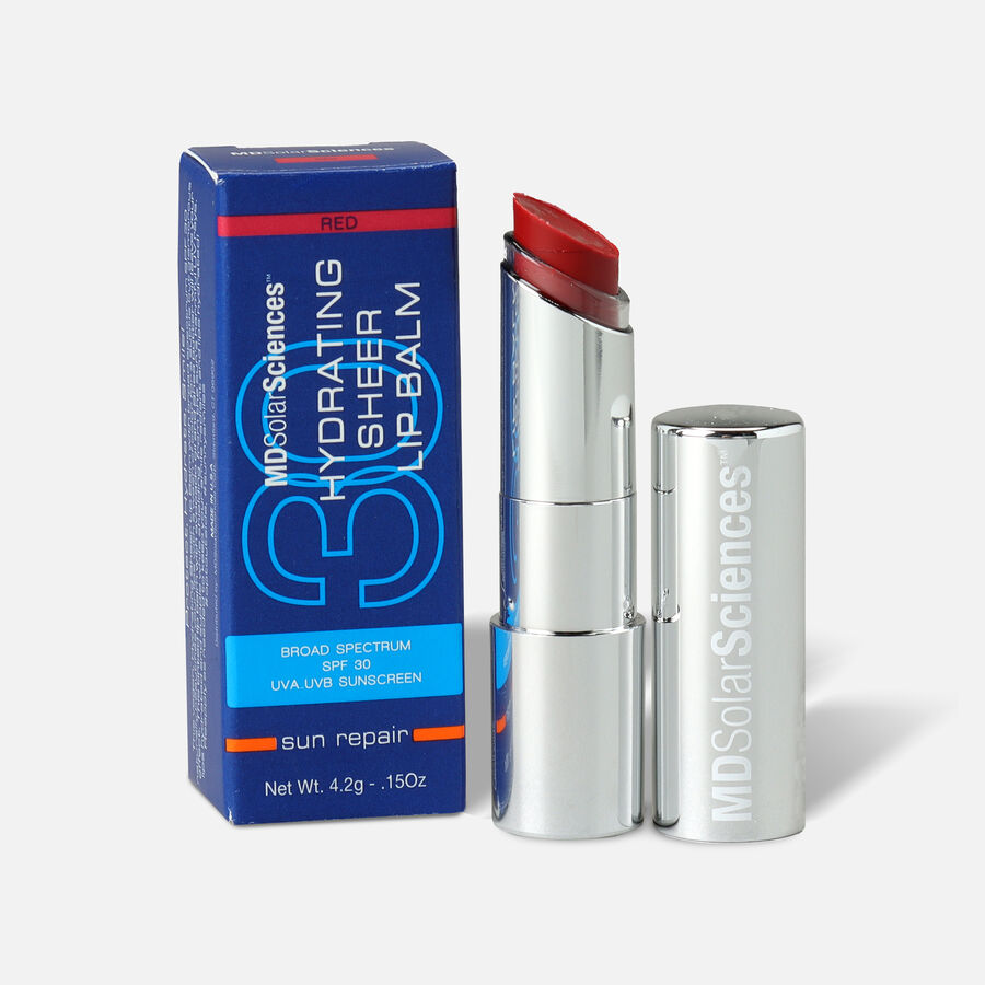 MDSolarSciences Hydrating Lip Balm SPF30 - Red, Red, large image number 0