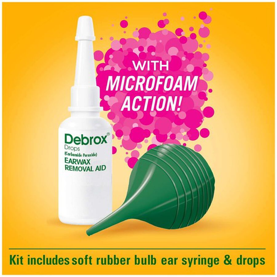 Debrox Earwax Removal Kit, , large image number 5
