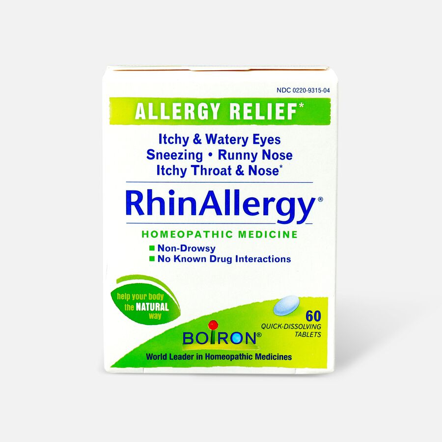 Boiron Rhinallergy Tablets, 60 ct, , large image number 0