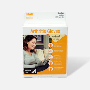 IMAK Arthritis Gloves, 1 Pair