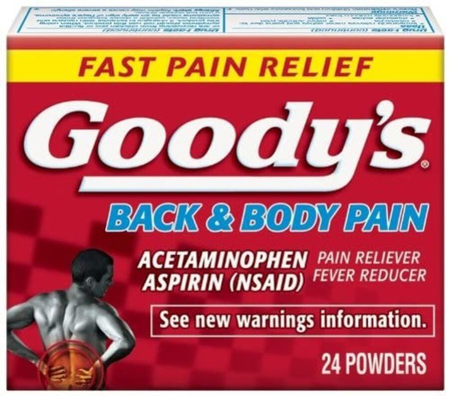 Goody's Back and Body Pain Acetominophen / Aspirin Tablets, 24 ct., , large image number 0