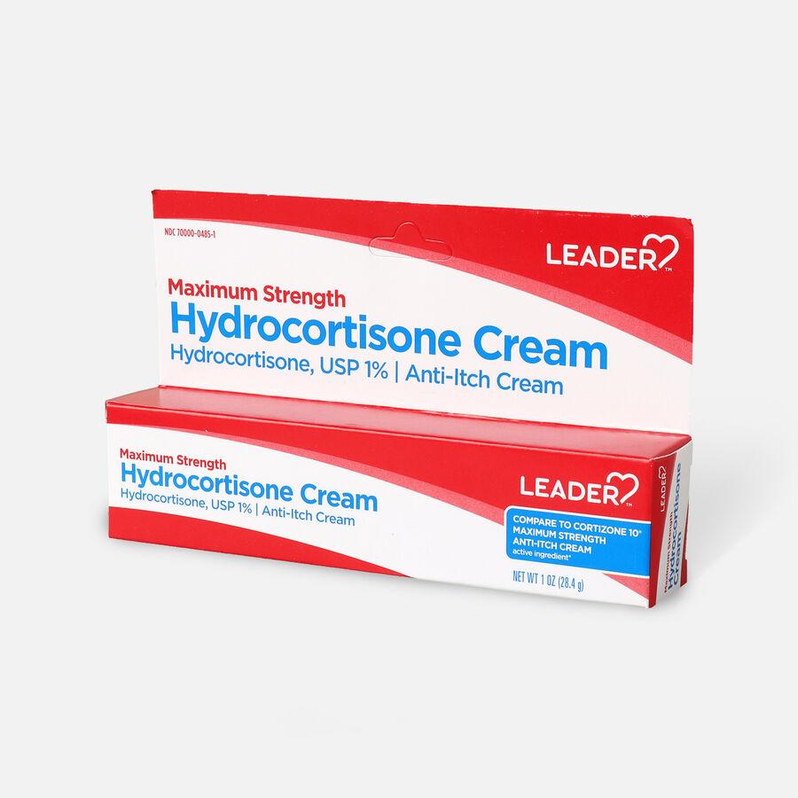 LEADER™ Hydrocortisone 1% Cream 1 oz, , large image number 2