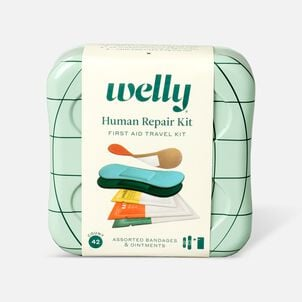 Welly Human Repair First Aid Travel Kit - 42ct