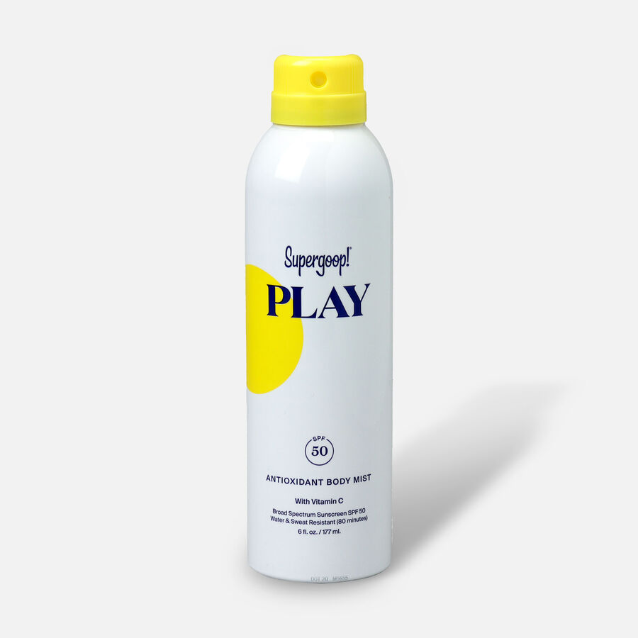 Supergoop! PLAY Antioxidant Body Mist SPF 50 with Vitamin C, , large image number 1