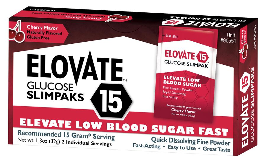 Elovate Glucose Packets, 2/box, , large image number 0