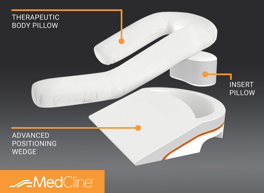 MedCline Acid Reflux Relief System + Extra Cases Bundle, , large image number 2