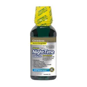 GoodSense® NightTime Severe Cold & Flu Max Strength 12 fl oz