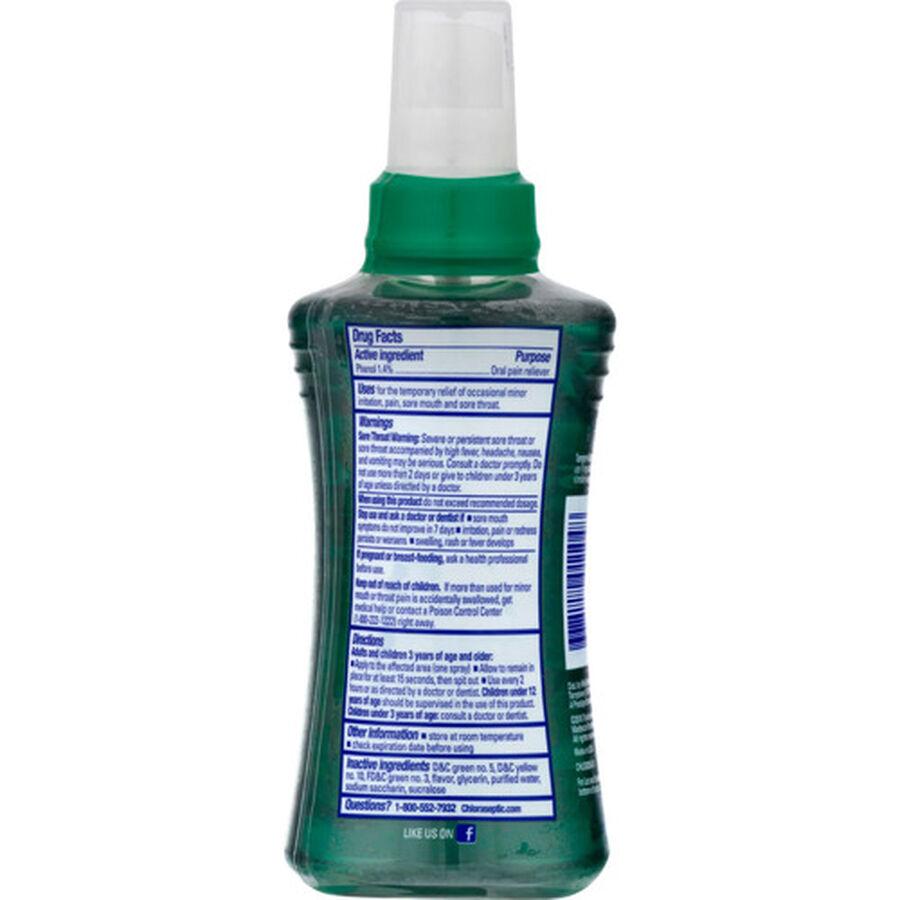 Chloraseptic, Menthol, Sore Throat Spray, 6 oz, , large image number 1