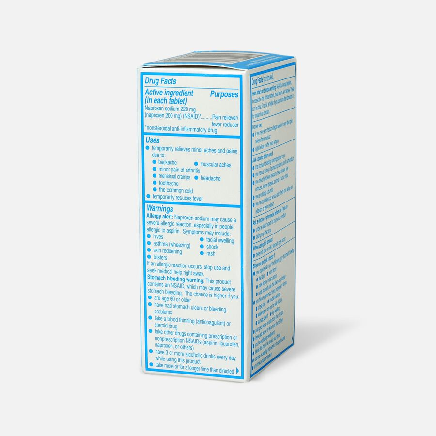 Aleve Back & Muscle Pain, 100ct, , large image number 3