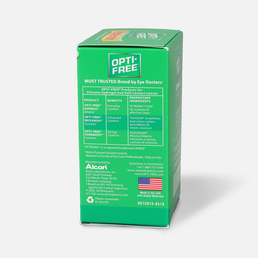 Opti Free Replenish Disinfecting Solution, Multi-Purpose, 2 fl oz, , large image number 3