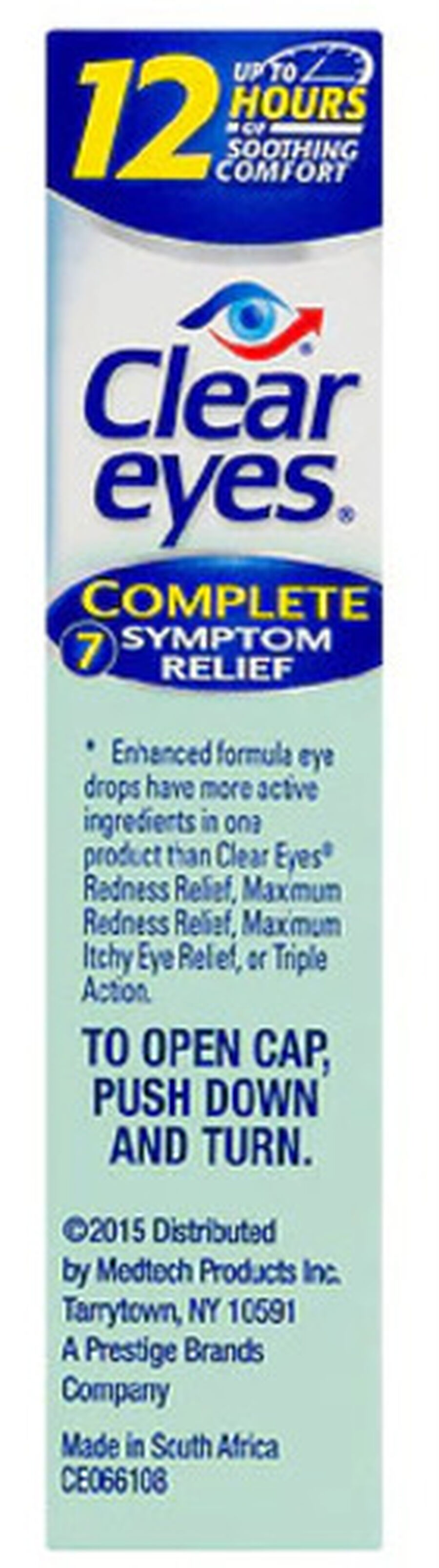 Clear Eyes Complete 7 Symptom Relief Drops, .5 oz, , large image number 2