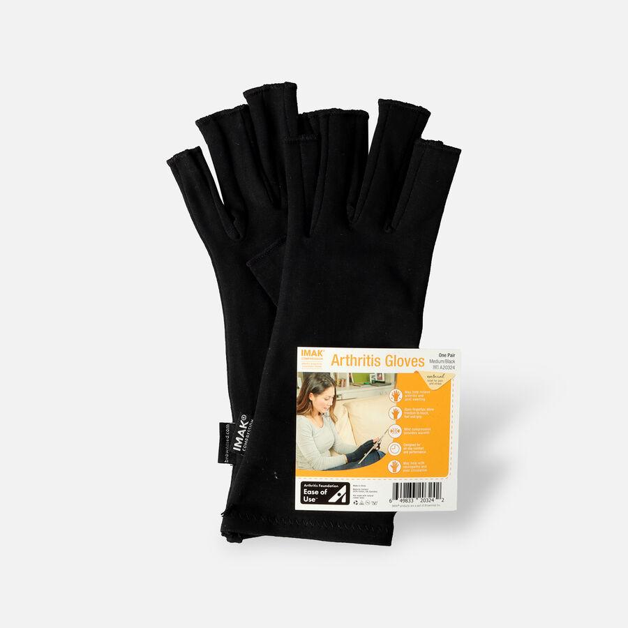 IMAK Compression Arthritis Gloves, Black, , large image number 2