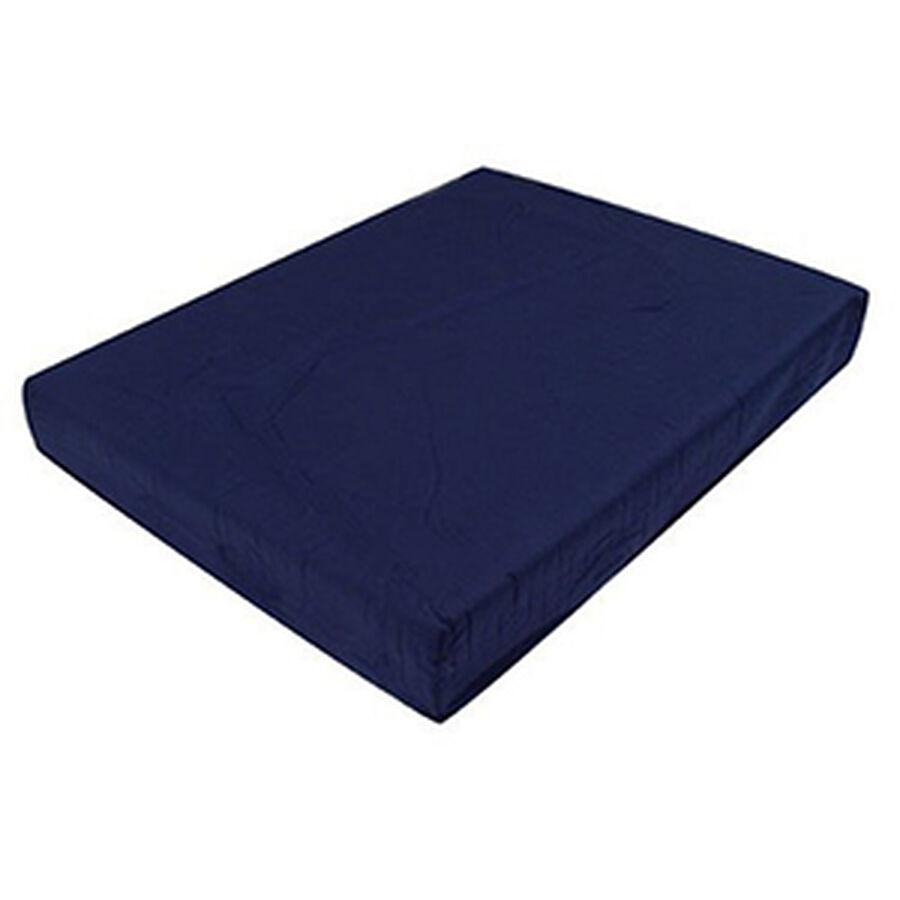 Mabis Standard Polyfoam Wheelchair Cushion, Navy, 1 ea, , large image number 2
