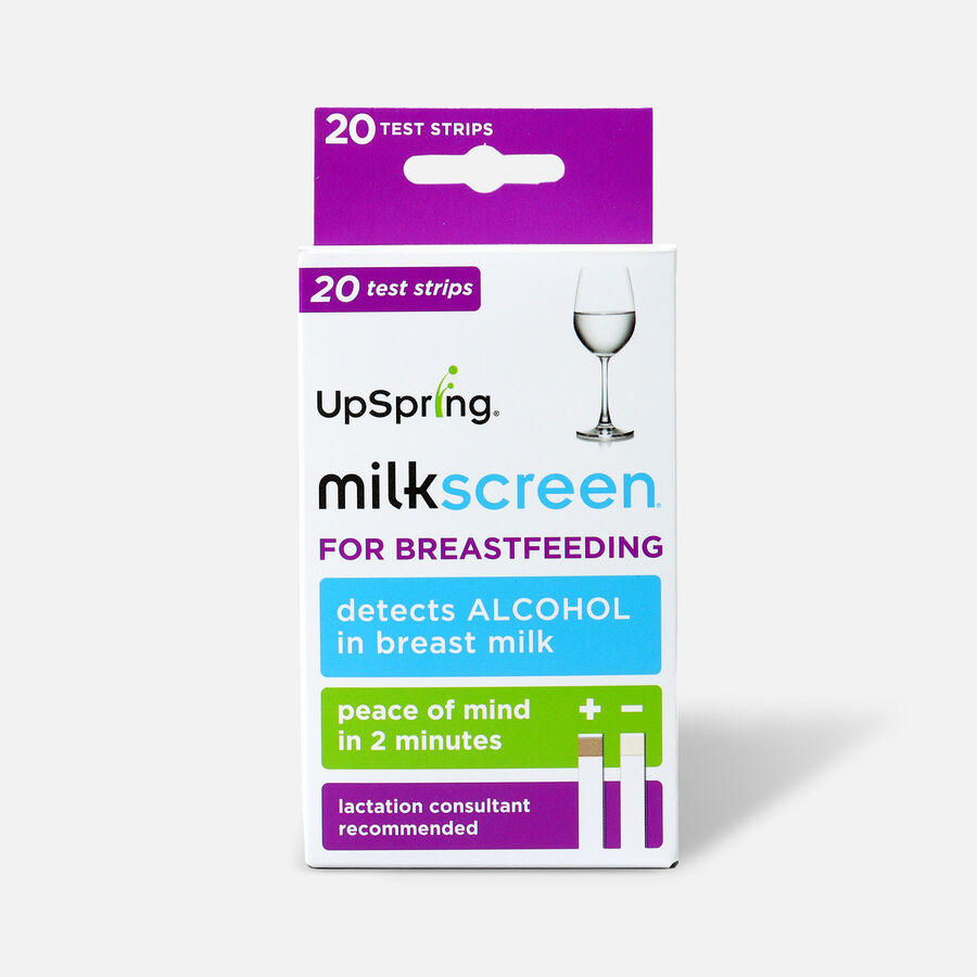 UpSpring Milkscreen Test for Alcohol in Breast Milk, 20 Pack, , large image number 0