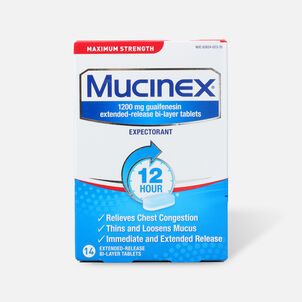Mucinex SE Max Strength Extended Release Bi-Layer Tablets, 14 ct
