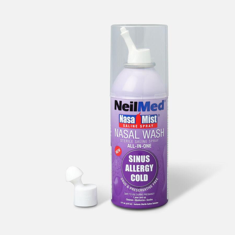 NeilMed NasaMist All in One Nasal Wash Saline Spray Canister, , large image number 0