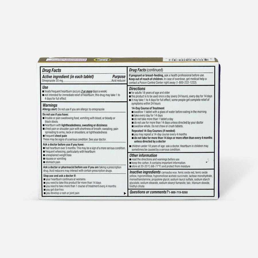 GoodSense® Omeprazole Delayed Release Tablets 20 mg, Acid Reducer, , large image number 1