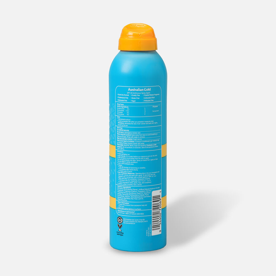 Australian Gold Extreme Sport Continuous Spray Ultra Chill, 5.6oz, , large image number 1