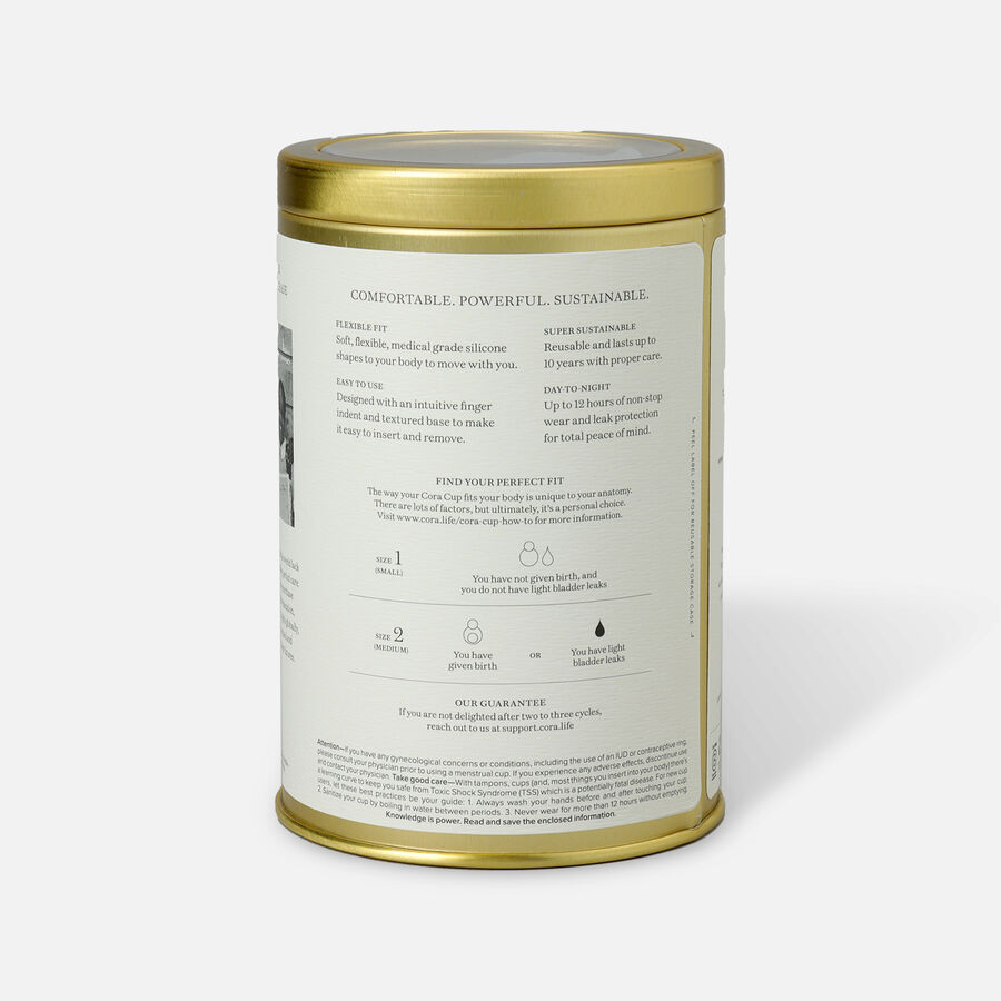 Cora Menstrual Cup, , large image number 6