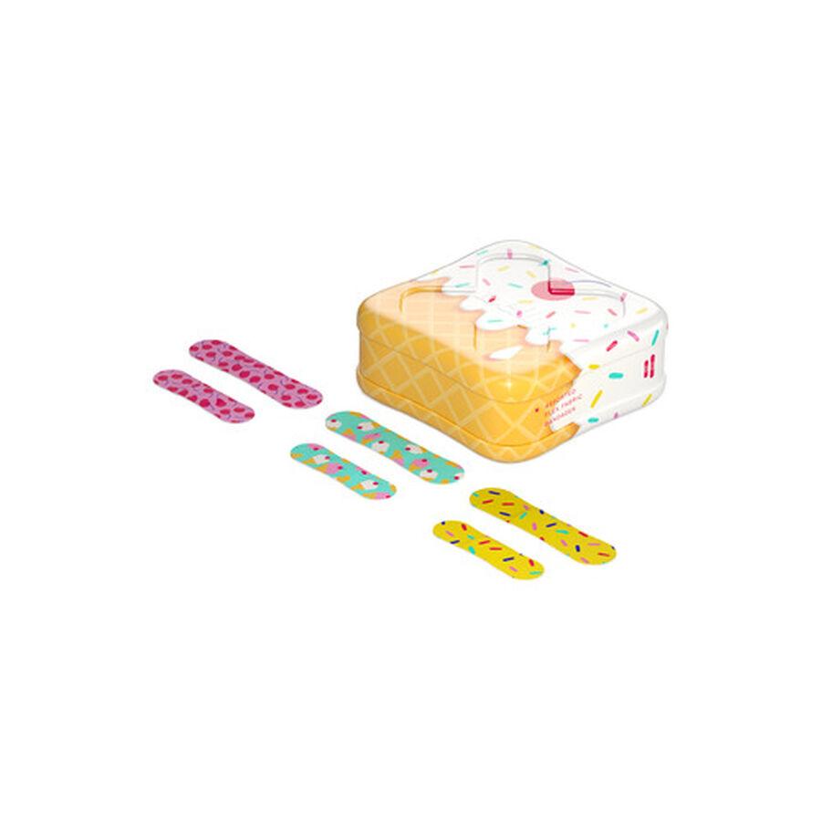 Welly Bravery Badges Ice Cream Assorted Flex Fabric Bandages - 48ct, , large image number 2