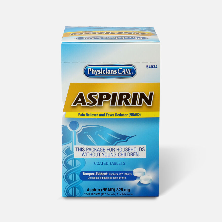 PhysiciansCare Aspirin, 250 Box, , large image number 0