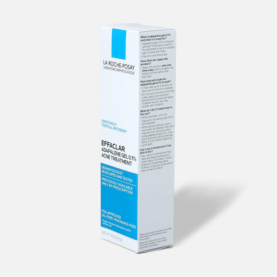 La Roche-Posay Effaclar Adapalene Gel 0.1%, Retinoid Acne Treatment, 1.6oz, , large image number 3
