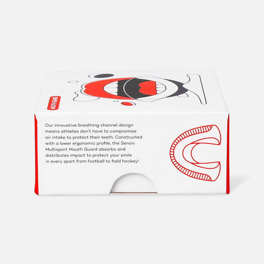 Sensiv Custom Fit Multi-Sport Mouth Guard - Black, , large image number 6